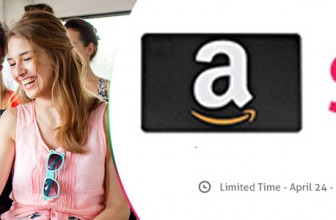 Бесплатный сертификат на 5$ для новых покупателей на Amazon